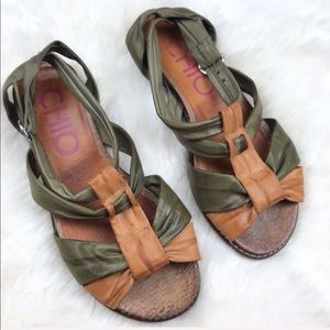 Anthropologie Chio Savage Paglia Sandals